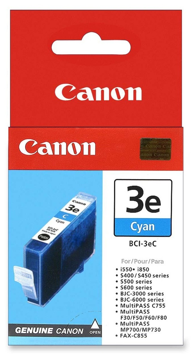 Canon Ink Cartridge BCI-3EC Cyan image