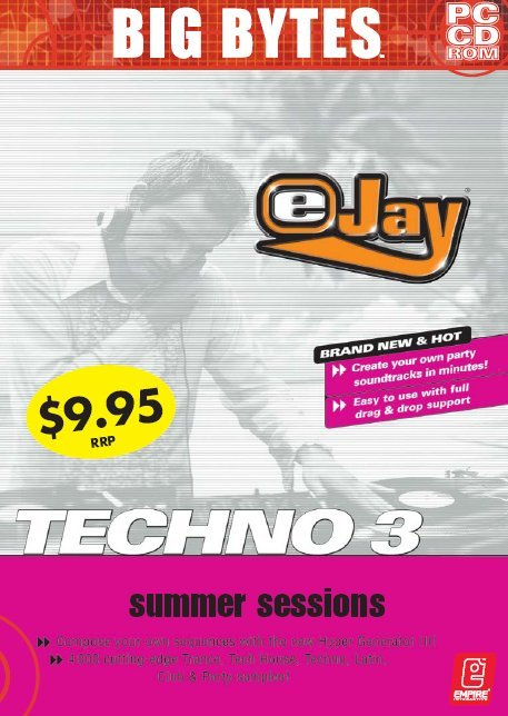 Techno eJay 3: Summer Sessions for PC Games