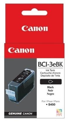 Canon Ink Cartridge - BCI3EBK (Black)
