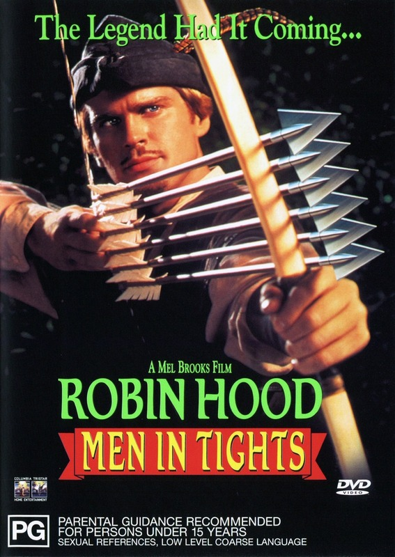 Robin Hood - Men in Tights on DVD