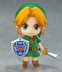 The Legend of Zelda Nendoroid Link: Majora's Mask 3D Version Figure