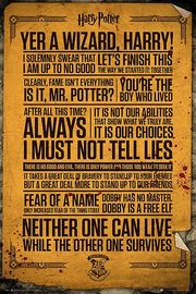 Harry Potter Poster - Quotes (535)