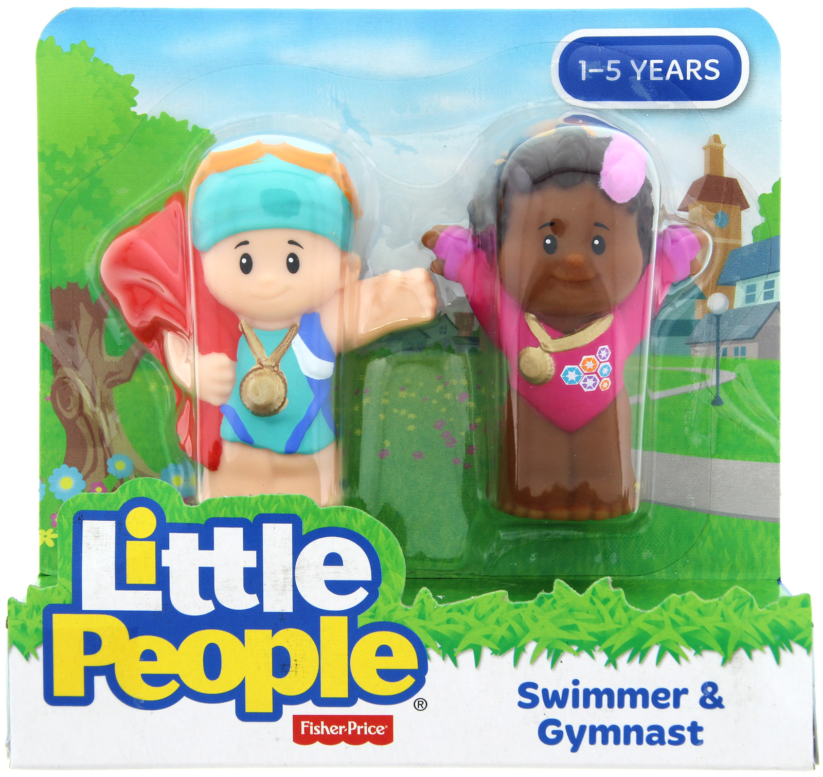 Fisher-Price: Little People - Swimmer & Gymnast image