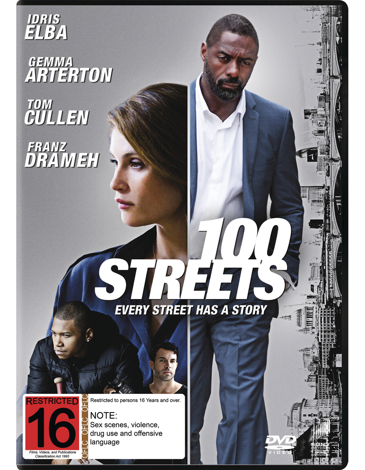 100 Streets on DVD image