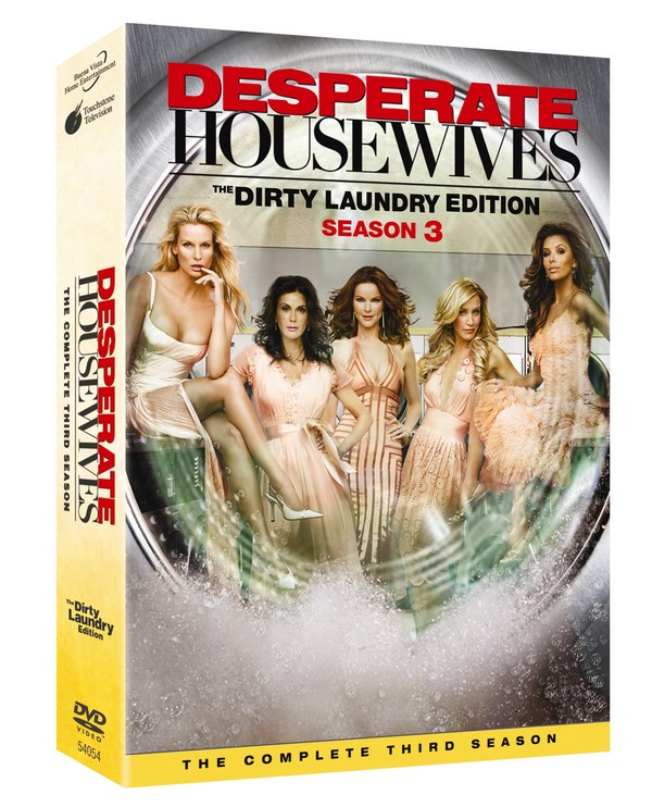 Desperate Housewives - The Complete 3rd Season (6 Disc Set) on DVD image