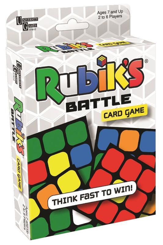 Rubik's Battle Cards