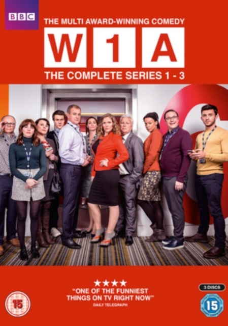 W1A: The Complete Series 1-3 on DVD image
