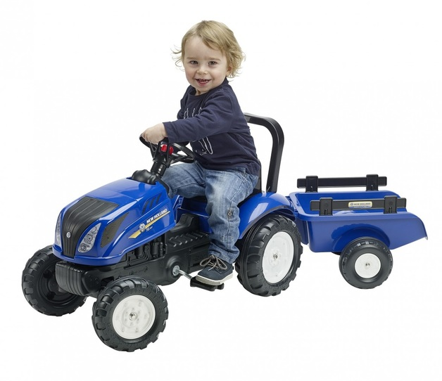 New Holland: T6 Tractor & Trailer