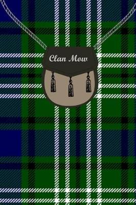 Clan Mow Tartan Journal/Notebook by Clan Mow