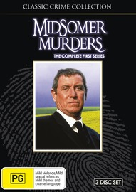 Midsomer Murders - The Complete First Series on DVD