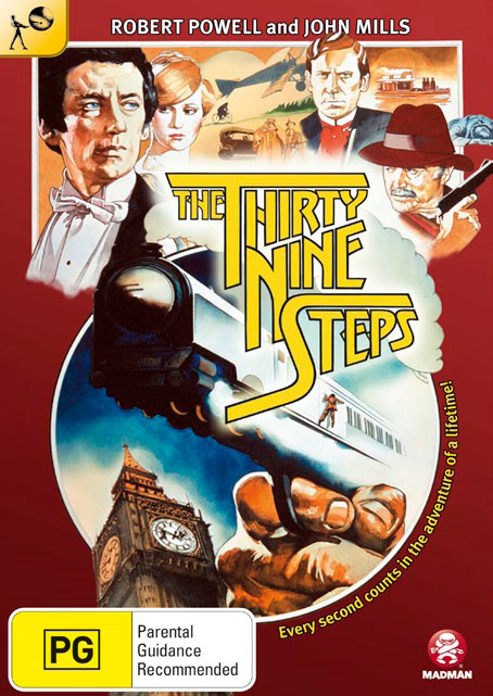 The 39 Steps (1978) on DVD
