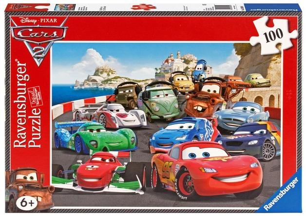 Ravensburger 100 Piece Jigsaw Puzzle - Disney Cars Racing