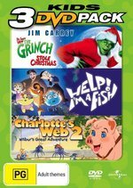 Grinch Who Stole Christmas / Help! I'm A Fish / Charlotte's Web 2 - Kids 3 DVD Pack (3 Disc Set) on DVD