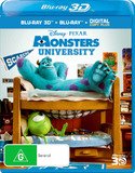 Monsters University 3D on Blu-ray, 3D Blu-ray, DC+