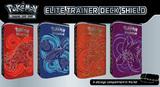 Pokemon TCG Elite Trainer Deck Shield Tin Series 2: Purple/Orange