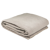 Bambury Cotton Velvet Blanket (Ash)