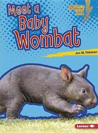 Baby Australian Animals: Wombat by Jon Fishman