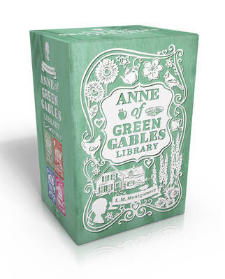 Anne of Green Gables Library: Anne of Green Gables; Anne of Avonlea; Anne of the Island; Anne's House of Dreams by Lucy Maud Montgomery image