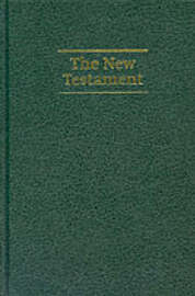 NIV Giant Print New Testament Dark green imitation leather NIVNT480: New International Version Giant Print Edition image
