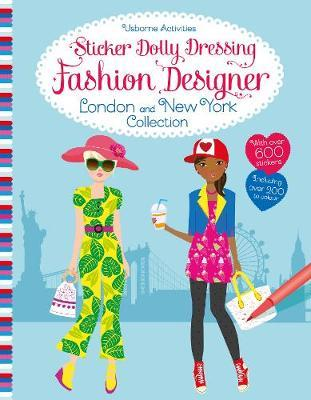 Sticker Dolly Dressing Fashion Designer London and New York Collection by Fiona Watt