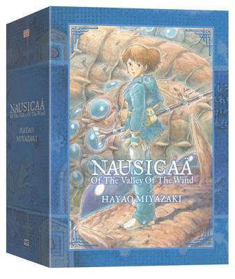 Nausicaa of the Valley of the Wind Box Set by Hayao Miyazaki