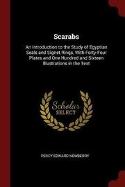 Scarabs by Percy Edward Newberry image