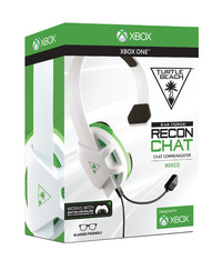 Turtle Beach Recon Chat White Headset for Xbox One