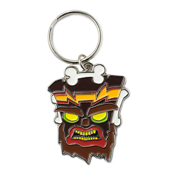 Crash Bandicoot Uka Uka Key Chain