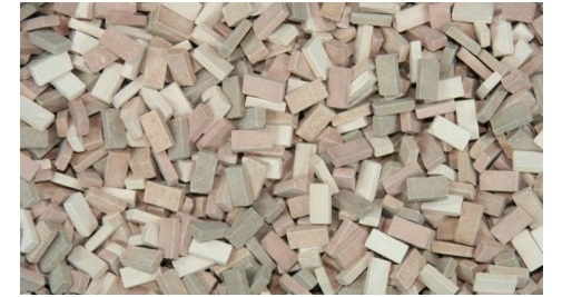 1:48 bricks (RF) terracotta mix (1,000 pcs.)