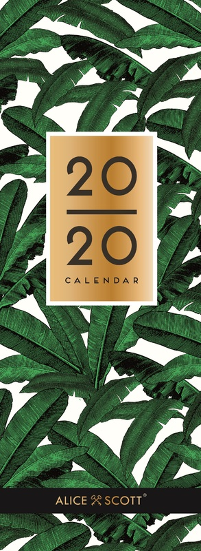 Portico: Alice Scott 2020 Slim Calendar