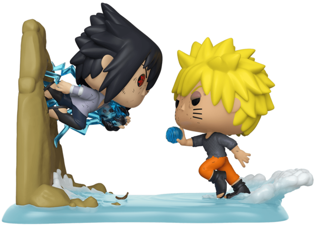 Naruto - Naruto vs Sasuke Pop! Anime Moment Figure