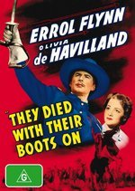 They Died With Their Boots On on DVD