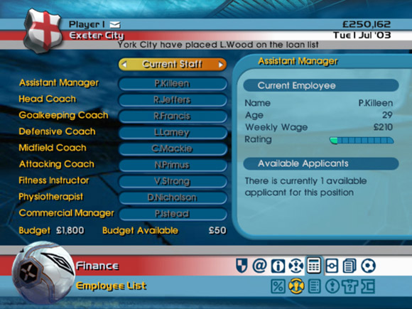 LMA Manager 2005 for Xbox image