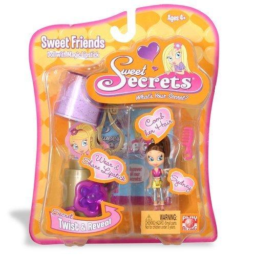 Sweet Secrets Fashion Doll and Lipstick Case: Sydney