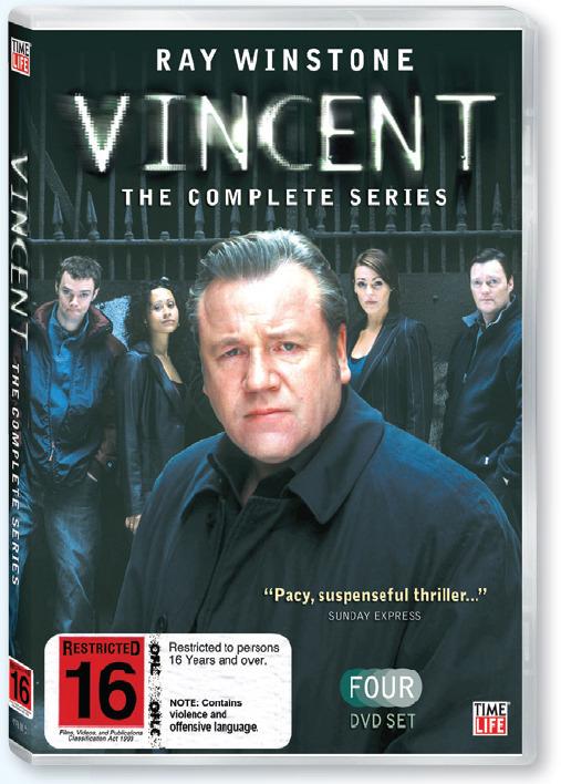 Vincent - Complete Series (4 Disc Set) on DVD