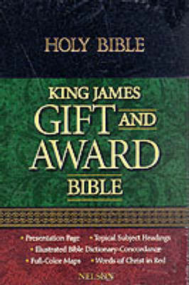 Bible: Authorized King James Version Gift and Award Bible