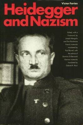 Heidegger and Nazism by Victor Farias