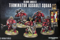 Warhammer 40,000 Blood Angels Terminator Assault Squad