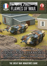 Flames of War - Char Saint Chamond - 2 Pack