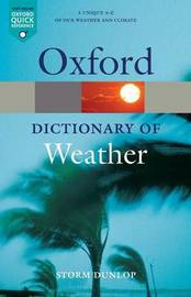 A Dictionary of Weather by Storm Dunlop image