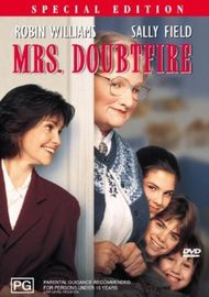 Mrs Doubtfire on DVD image