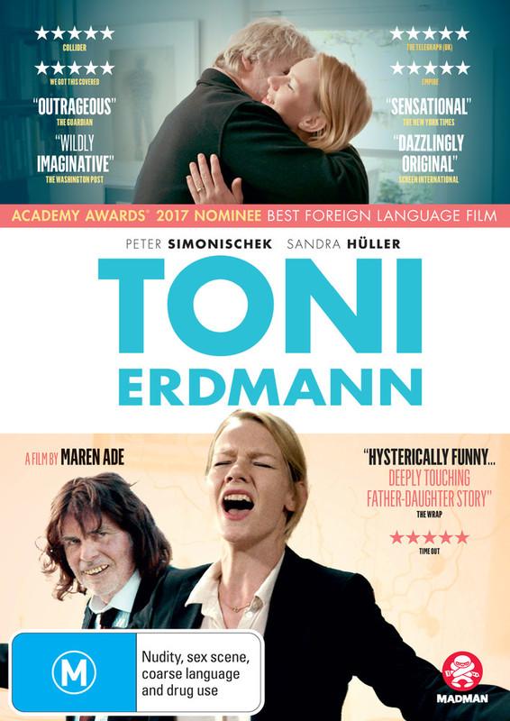 Toni Erdmann on DVD