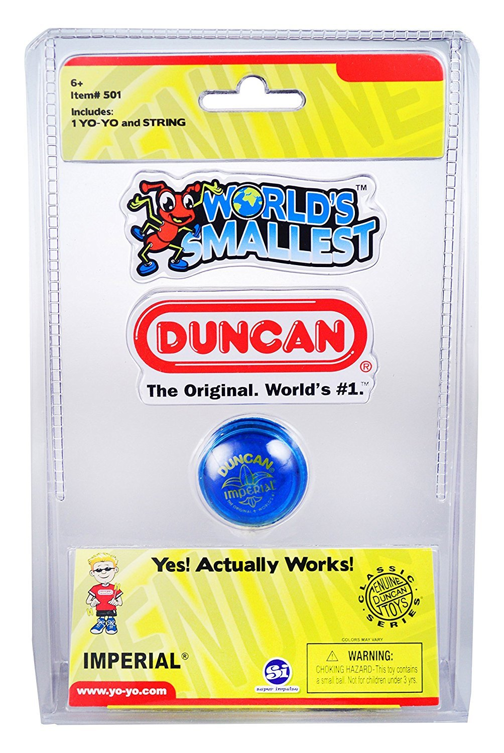 Worlds Smallest - Duncan Yoyo image