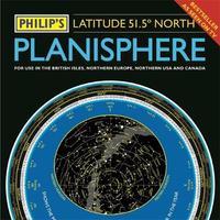 Philip's Planisphere (Latitude 51.5 North) by Philip's Maps