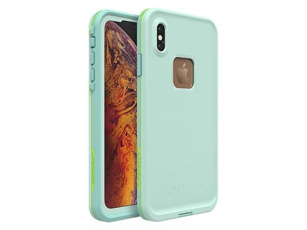 Lifeproof: Fre Case for iPhone Xs Max - Tiki Blue Lime