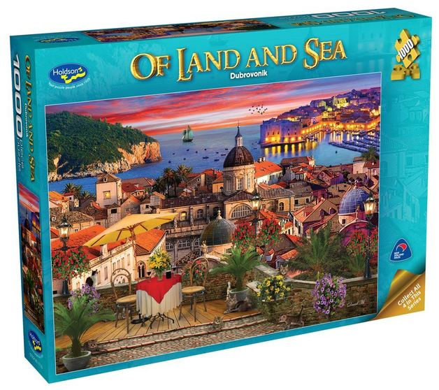 Holdson: 1000 Piece Puzzle - Of Land & Sea S2 (Dubrovnik)