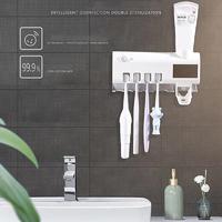 Wall-mounted UV Light Toothbrush Sterilizer