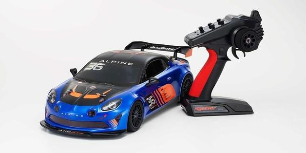 Kyosho: 1/10 EP RS 4WD Fazer FZ02 Alpine GT4
