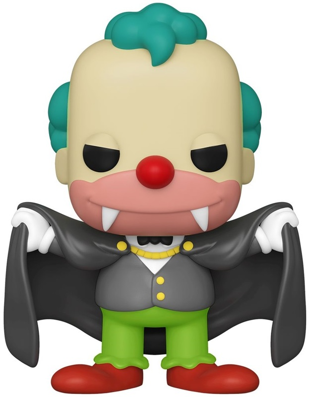 The Simpsons: Krusty (Vampire) - Pop! Vinyl Figure