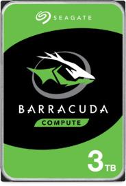 "3TB Seagate BarraCuda 3.5"" 5400RPM SATA HDD"